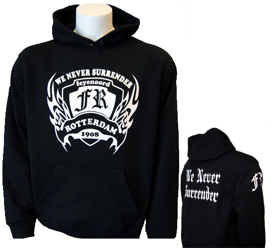 "(1) Hooded "" NO SURRENDER\"""